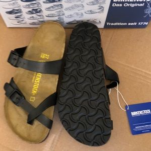 Birkenstock Shoes - Birkenstock Mayari Black Sandals